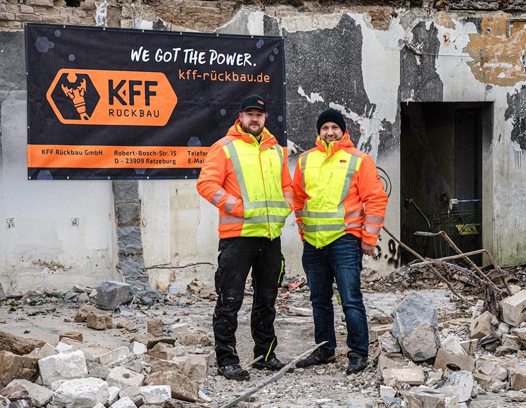 Geschäftsleitung KFF Rückbau GmbH
